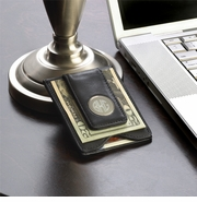 Personalized Leather Wallet - Leather Money Clip