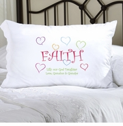 Personalized Faith Pillow Case - Lighthearted