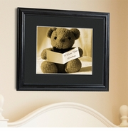 Personalized Framed Prints - Loving You Bear