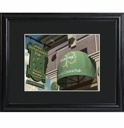 Personalized Lucky Clover Pub and Bar Print