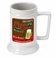 Personalized Beer Stein - Man Cave