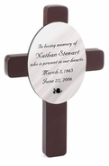 Personalized Memorial Crosses