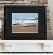 Personalized Picture Frame - Message in a Bottle