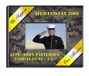 Personalized Military Picture Frames
