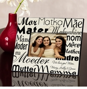 Personalized Picture Frame - Mom in Translation