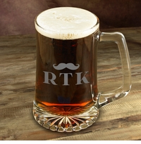 Personalized Mustache Mugs