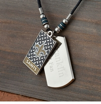 Personalized NFL Necklace