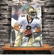 Personalized NFL Signature Canvas Prints