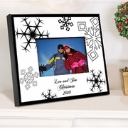 Personalized Picture Frame - Nostalgic Snowflake