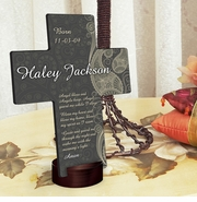 Personalized Cross - Paisley Praise