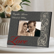Personalized Picture Frame - Passionate Paisley