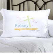 Personalized Pillow Case - Pastel Grace