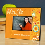 Personalized  Picture Frame - Teachers