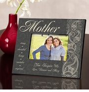 Personalized Picture Frame - Pretty Paisley