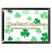 Personalized Family Sign - Raining Clovers