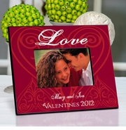 Personalized Picture Frame - Roses are Red