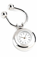 Personalized Round Clock Key Chain