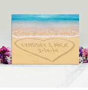 Personalized Sand Print Canvas
