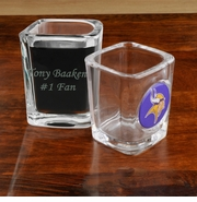 Personalized Shot Glass with NFL Team Logo