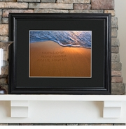 Personalized Picture Frame - Couples Sand Art
