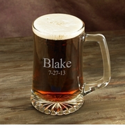 Personalized Sports Beer Mug - 25 oz.