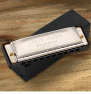 Personalized Harmonica � Stainless Steel