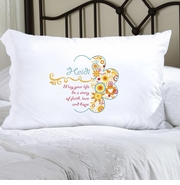 Personalized Pillow Case - Sunny Flowers