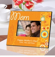 Personalized Picture Frame - Sunshine and Flowers