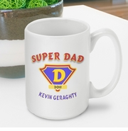Personalized Coffee Mug - Super Dad