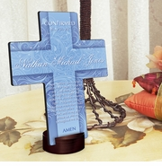 Personalized Cross - Twinkling Star