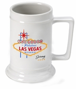Personalized Beer Stein - Vegas Wedding Party