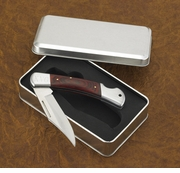 Personalized Wood Handle  Folding Pocket Knife