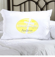 Personalized Pillow Case - Yellow Celtic Blessings Confirmed