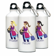 Personalized Water Bottle - Go-Girl Shopper