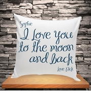 Personalized Throw Pillows - Personal Messages Series
