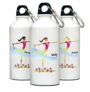 Personalized Water Bottle - Go-Girl Yoga