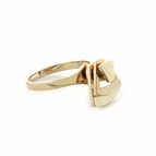 14K Yellow Gold Motion Ring