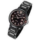 Cloud Series Black Small Face Ladies Watch by Rougois