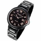 Rougois Cloud Series Black Large Face Watch