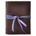 African Violet Handmade Leather Journal