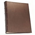 Amato 14 x 18 Handmade Italian Distressed Leather Photo Album