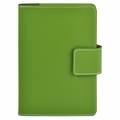 Bella Refillable Recycled Leather Journal - Green