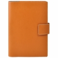 Bella Refillable Recycled Leather Journal - Large Tan