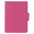 Bella Refillable Recycled Leather Journal - Pink