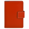 Bella Refillable Recycled Leather Journal - Red