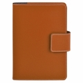 Bella Refillable Recycled Leather Journal Tan