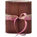 Blossom Leather Journal with Artist Papers