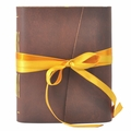 Buttercup Leather Journal with Artist Papers