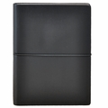 Ciak Leather Journals with Multicolored Pages - Black