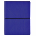Ciak Leather Journals with Multicolored Pages - Blue